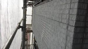千葉県野田市 O様邸 外壁塗装と屋根塗装の外壁の施工前写真