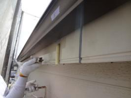 千葉県松戸市S様邸の外壁塗装と屋根塗装工程:ファイン浸透造膜シーラー