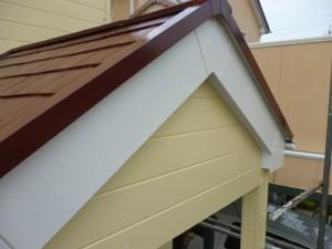千葉県柏市 K様邸 外壁塗装と屋根塗装の破風板の施工後写真
