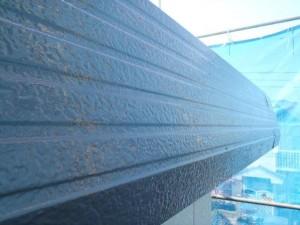 千葉県白井市 I様邸 外壁塗装と屋根塗装の破風板の施工後写真