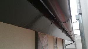 千葉県柏市花野井 S様邸 破風板塗装 施工後