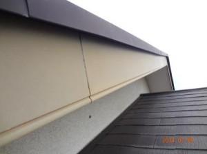印西市K様 付帯塗装:破風板