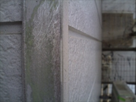 千葉県柏市和田様邸の外壁塗装と屋根塗装工程:下地研磨