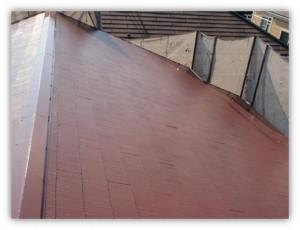 柏市N様邸の外壁塗装と屋根塗装の屋根の施工後写真