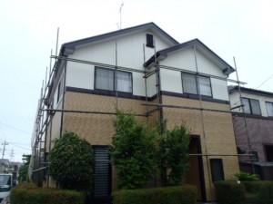 野田市の外壁塗装と屋根塗装の外観の施工後写真