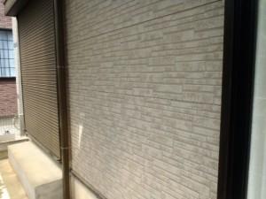 野田市の外壁塗装と屋根塗装の外壁の施工前写真