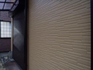 野田市の外壁塗装と屋根塗装の外壁の施工後写真