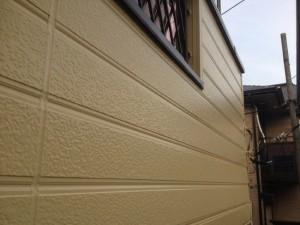 我孫子市の外壁塗装と屋根塗装の外壁の施工後写真
