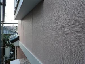 松戸市の外壁塗装と屋根塗装の外壁の施工後