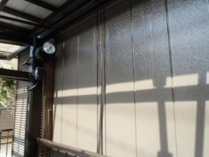 松戸市の外壁塗装と屋根塗装の雨戸の施工後写真