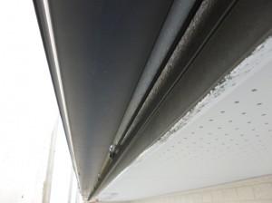 守谷市の外壁塗装と屋根塗装の破風板の施工前写真