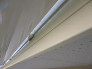 守谷市の外壁塗装と屋根塗装の破風板の施工後写真