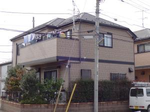 千葉県流山市松ヶ丘 外壁塗装S様邸