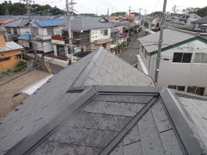 千葉県流山市松ヶ丘 屋根ガルテクトカバー工法S様邸