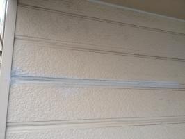 千葉県我孫子市I様邸の外壁塗装と屋根塗装工程:塗膜剥離の補修(完成)