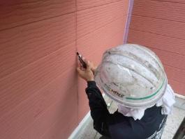 千葉県印西市H様邸の外壁塗装と屋根塗装工程:高圧洗浄