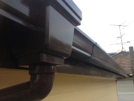 千葉県我孫子市I様邸の外壁塗装と屋根塗装工程:雨樋