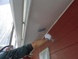 千葉県印西市H様邸の外壁塗装と屋根塗装工程:破風材の増し貼り