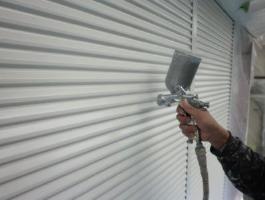 千葉県印西市H様邸の外壁塗装と屋根塗装工程:上塗り2回目