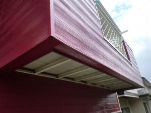 印西市の外壁塗装と屋根塗装のベランダリフォームの施工後写真