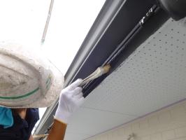 茨城県守谷市I様邸の外壁塗装と屋根塗装工程:強化性浸透シーラー