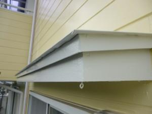 千葉県柏市 K様邸 外壁塗装と屋根塗装の霧除けの施工後写真