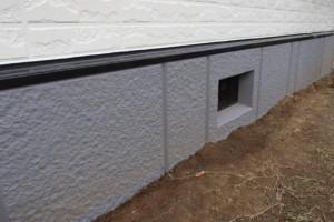 成田市の外壁塗装と屋根塗装の基礎の施工後写真