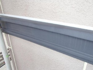 茨城県取手市 M様邸 外壁塗装と屋根塗装の幕板の施工前写真