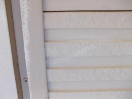 千葉県柏市N様邸の外壁塗装と屋根塗装工程:クラック補修