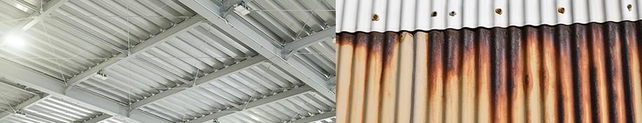 工場や倉庫の屋根