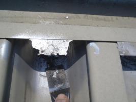 千葉県白井市I様邸の外壁塗装と屋根塗装工程:劣化箇所の補修