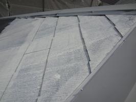 千葉県松戸市S様邸の外壁塗装と屋根塗装工程:下塗り1回目(サーモアイシーラー)