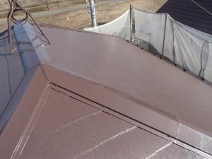 千葉県柏市 O様邸 外壁塗装と屋根塗装の屋根の施工後写真