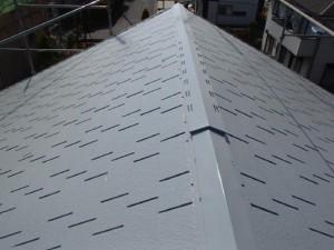 茨城県取手市 A様邸 外壁塗装と屋根塗装の屋根の施工後写真