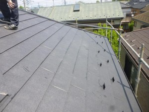 千葉県柏市I様邸 外壁塗装と屋根塗装の屋根の施工後写真