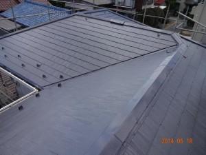 千葉県柏市 N様邸 外壁塗装と屋根塗装の屋根の施工後写真