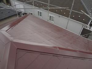 松戸市の外壁塗装と屋根塗装の屋根の施工後写真
