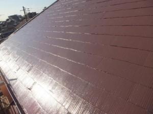 船橋市の外壁塗装と屋根塗装の屋根の施工後写真