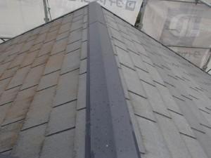 茨城県取手市 A様邸 外壁塗装と屋根塗装の屋根の施工前写真