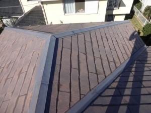 千葉県白井市 S様邸 外壁塗装と屋根塗装の屋根の施工前写真