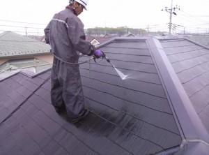 千葉県柏市I様邸 外壁塗装と屋根塗装の屋根の施工前写真