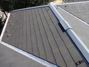千葉県柏市 N様邸 外壁塗装と屋根塗装の屋根の施工前写真