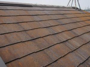 取手市の外壁塗装と屋根塗装の屋根の施工後写真