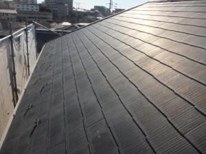 船橋市の外壁塗装と屋根塗装の屋根の施工前写真