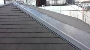 千葉県野田市O様邸の屋根補修・塗り替え工事:施工前