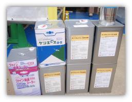茨城県取手市H様邸の外壁塗装と屋根塗装工程:使用材料 2