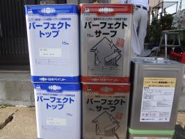 千葉県松戸市S様邸の外壁塗装と屋根塗装工程:使用材料3