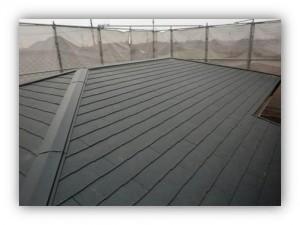 柏市逆井 C様 施工後の屋根の外観