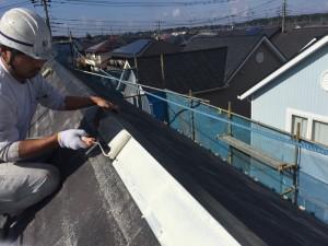 千葉県印西市滝野 O様邸 屋根塗装8