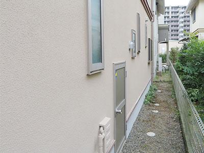 鎌ケ谷市M様邸 ベース部分の外壁